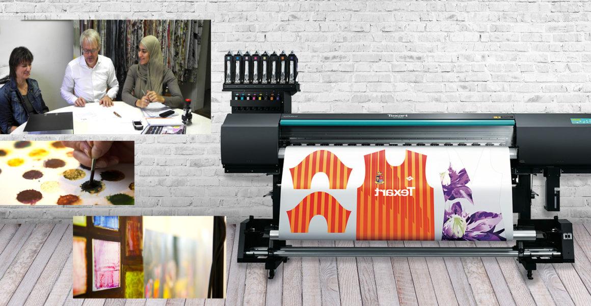 Nieuwe markten voor textielontwerper met Roland