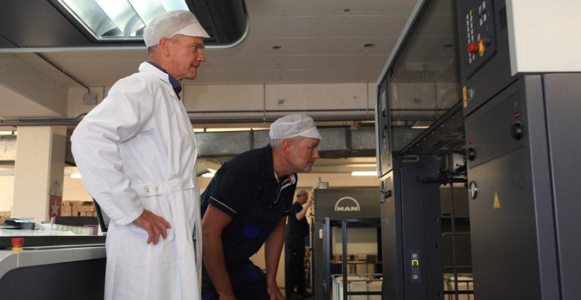 Wesly Printing & Packaging investeert in nieuwe Manroland pers