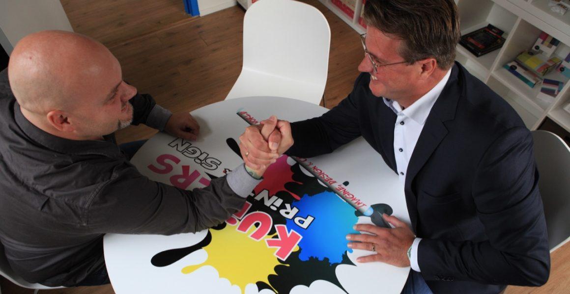 Investering maakt groei beheersbaar bij Kuipers Print en Sign